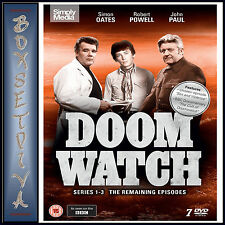DOOMWATCH - COMPLETE SERIES 1 - 3   **BRAND NEW DVD***