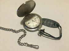 New Charles Hubert Hunter Case Quartz Pocket Watch #3818