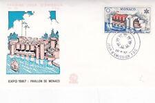 Monaco 1967 Expo 67 Montréal FDC unadressed Très bon état
