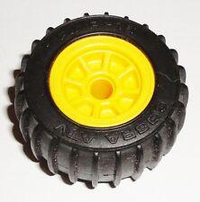 G I JOE PART      1988 Tiger Paw ATV              Wheel Rim with Tire