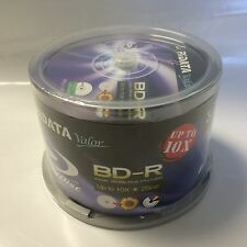 200 RiData Valor White Inkjet Printable Blu-Ray BD-R Blank Disc 25GB Up to 10X