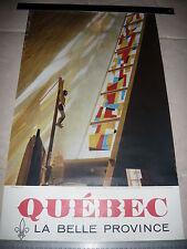 Affiche QUEBEC La Belle Province c. 1960 - Canada - 1