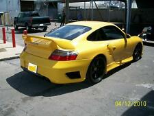 PORSCHE 996 TURBO GT REAR BUMPER, SPOILER, TAIL SKIRTS 2001 TO 2005 COUPE N CAB