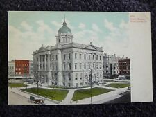 Early 1900's The Court House in Bloomington, Il Illinois PC
