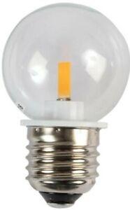 Lampe LED Golf Balle Ampoule, G45 E27 Transparent - Blmg4527Bb-Rvw1H23