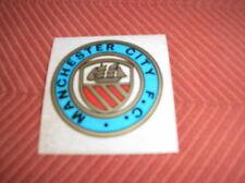 MANCHESTER CITY SHIELD BADGE PANINI 1970 FOOTBALL CALCIATORI ALBUM