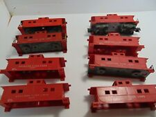 8 AMERICAN FLYER LINES  red caboose S gauge rebuild or parts, (5004 B3)