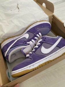 """Nike SB Dunk Low Pro ISO """"LILAC"""" Shoes Rare US 9 Authentic From JAPAN"""