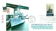 USS THE SULLIVANS DD-537 Destroyer Named: Five USN Brothers Buffalo Museum Ship