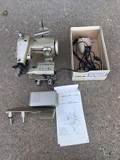 B & B Industrial Glaco Astra Portable Blindstitch Machine Hemmer Euc