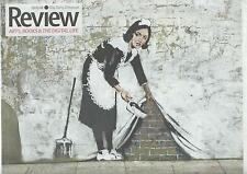 BANKSY  = OFF THE WALL =  UK newspaper supplement 2008
