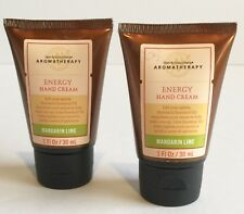 BATH & BODY WORKS AROMATHERAPY MANDARIN LIME HAND CREAM SET
