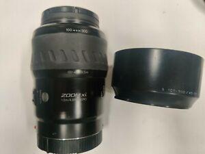NIB Minolta Maxxum AF 100-300mm f/4.5-5.6 Xi AF Lens