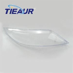 Pair Headlight Lens Cover Headlamp Lens Cover For KIA Sportage R 2010-2013