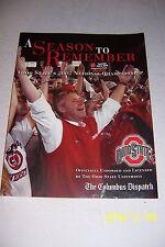 2002 Columbus Dispatch OHIO STATE BUCKEYES Fiesta Bowl NATIONAL Champs TRESSEL