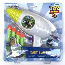 Disney Pixar Toy Story 4 Dart Blaster - Foam Darts & Blaster - NEW