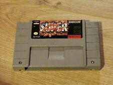 Super Street Fighter II 2 Super Nintendo SNES Game Cartridge Tested