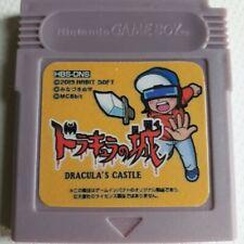 Dracula's Castle Nintendo Gameboy Videogame