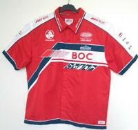 Holden BOC Team V8 Supercars Mens Button Up Red Official Collared Shirt - XXL