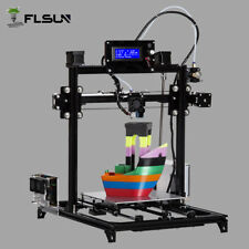 Dual Nozzle +Touch Screen  I3 3D Large Size Printer Metal  Heated Bed Auto-level