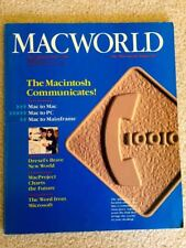 MACWORLD MAGAZINE JULY-AUG 1984 EXCELLENT COND MAC COMMUNICATIONS 3rd ISSUE EVER