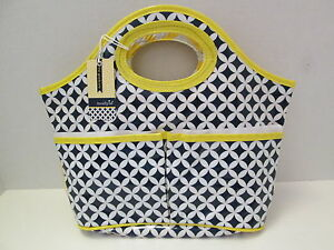 Shower Caddy, The Graduate by Mud Pie, Blue/White/Yellow, NWT