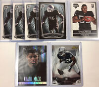 2014 Topps Khalil Mack RC 08/25 7 Rookie Card Lot Refractor Finest Chicago Bears