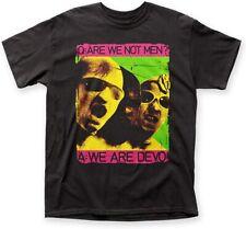 Authentic DEVO We Are Devo Slim-Fit Black T-Shirt S-3XL NEW