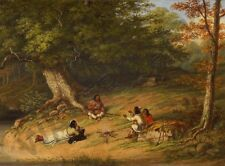 PAINTING KRIEGHOFF MIDDAY REST WALL POSTER ART PRINT LF3312