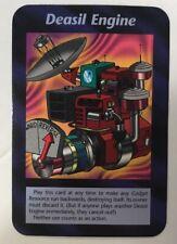 ILLUMINATI NEW WORLD ORDER CARD GAME TCG -DEASIL ENGINE NEAR MINT TO MINT