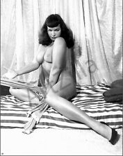 "Bettie Page Photo Poster Retro Pin Up 038 Printed in Photo Lab 11""x14"" in"