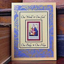 Christian Christmas Cards Handmade Religious Set of 5 Nativity Madonna & Child