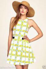 Cotton Blend Machine Washable Floral Sundresses for Women