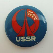 USSR London 1979 Tin Pin Badge