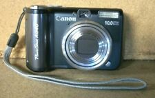 Canon PowerShot A640 10.0MP PC1200 Digital Camera Black