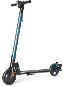 SOFLOW SO1 Faltbarer E-Scooter Roller schwarz/grün mit dt. Straßenzulassung