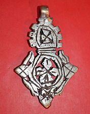 Metal Cross Pendant Ethiopia Africa Handmade Ethiopian Coptic Orthodox Christian