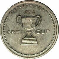 1972 HAMILTON, ONTARIO CANADA GREY CUP HALL OF FAME FOOTBALL TOKEN!  e39SUT2
