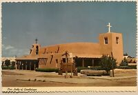 Taos New Mexico Postcard Our Lady Guadalupe Vintage Card NM