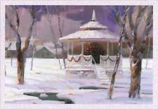 Winter Gazebo 16 Boxed Christmas Cards by Image Arts