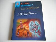 LA TRAHISON / MALEDICTIONS 1 - R.L. STINE - J'AI LU PEUR BLEUE