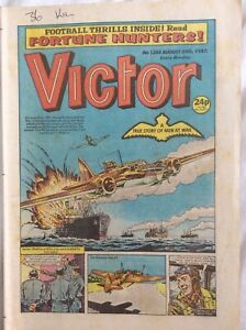 Victor #1384 29/8/87 Tough At The Top, Fortune Hunters DC Thompson UK Comic