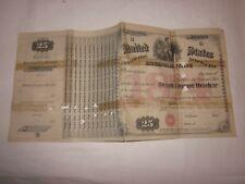 1874 Retail Liquor Dealer Special Tax Stamp certificate