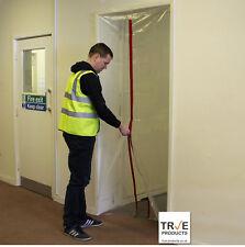 True 1 Zip Door Kit - Dust Stop Door for Renovation DIY Polytunnels Construction