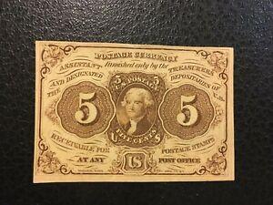 USA  5 Cents - Fractional -- 1862  -- CRISP!!  AU / UNC