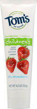 Children's Toothpaste by Tom's of Maine, 4.2 oz Silly Strawberry Fluoride-Free