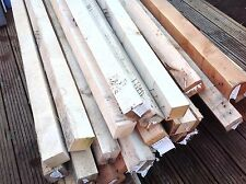 """RECLAIMED TIMBER 3""""x3"""" 6ft & 7ft POSTS WOOD FOR BEARERS FENCE RAILS JOIST ETC"""