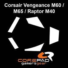 Corepad Skatez Corsair Vengeance M60 M65 Raptor M40 Ersatz Teflon® Mausfüße
