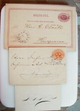 Classic  Sverige Sweden Cover / Nice Mixed Lot 1885 - 1897