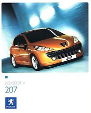 Peugeot 207 05 / 2006 catalogue brochure polonais rare
